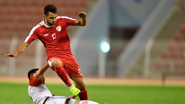 Национальная сборная Таджикистана провела второй товарищеский матч против сборной Омана - Sputnik Таджикистан