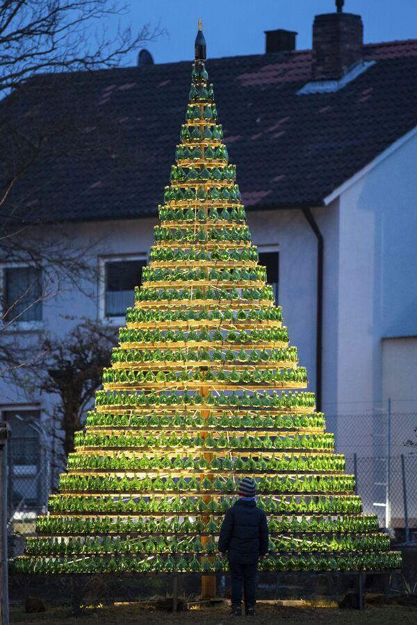 Рождественская ель в Германии  - Sputnik Таджикистан
