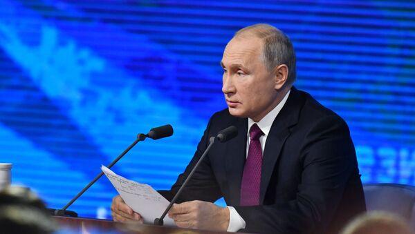 Владимир Путин, архивное фото - Sputnik Таджикистан