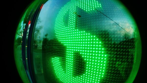 Табло курса доллара - Sputnik Таджикистан