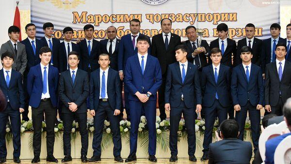 Лучшей спортивной федерацией года четвертый год подряд была названа Федерация футбола Таджикистана - Sputnik Таджикистан
