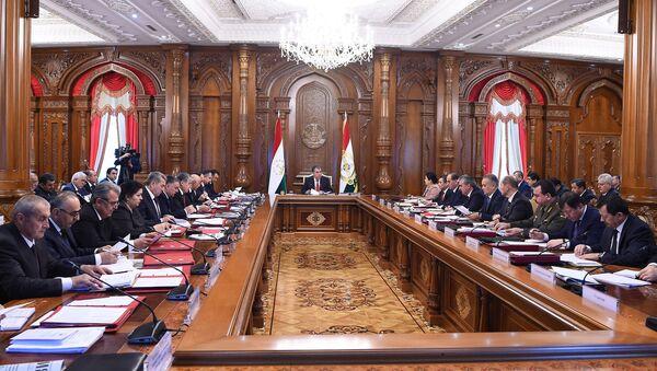 Заседание правительства Республики Таджикистан - Sputnik Тоҷикистон