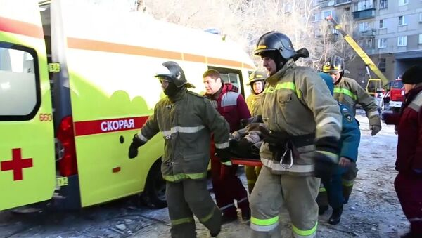 Взрыв бытового газа в жилом доме в Магнитогорске - Sputnik Таджикистан