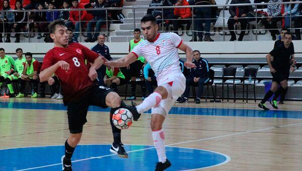 Сборная Таджикистана по футзалу проиграла Турции в первом товарищеском матче - Sputnik Тоҷикистон