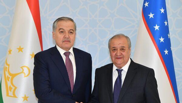 Встреча министров иностранных дел Таджикистана и Узбекистана - Sputnik Тоҷикистон