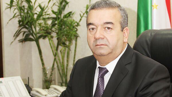 Хакимзода Курбон председатель Государственного комитета по земельному управлению и геодезии при правительстве Республики Таджикистан - Sputnik Тоҷикистон