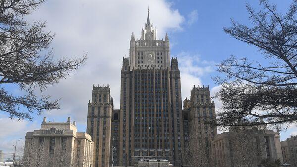 Здание Министерства иностранных дел РФ в Москве, архивное фото - Sputnik Таджикистан