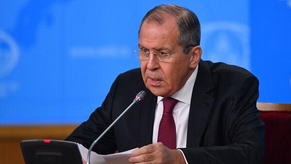 Пресс-конференция главы МИД РФ С. Лаврова - Sputnik Таджикистан