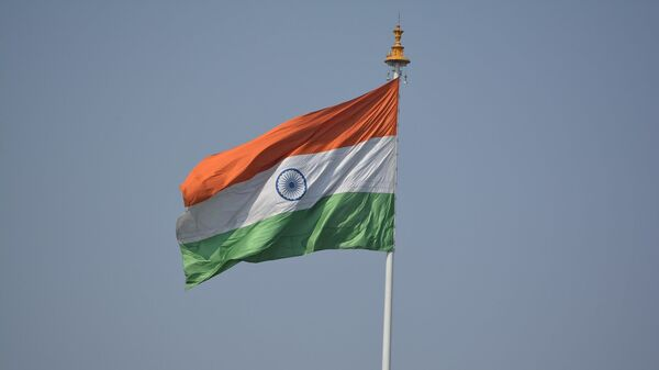 Флаг индии, архивное фото - Sputnik Тоҷикистон