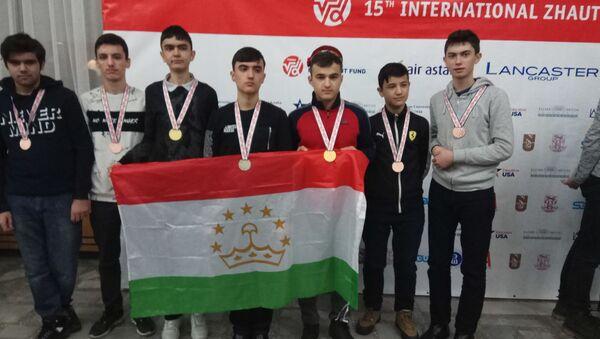 Победители Международной жаутыковской олимпиады по математике, физике и химии - Sputnik Тоҷикистон