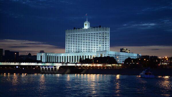 Вид на Дом правительства Российской Федерации, архивное фото - Sputnik Таджикистан