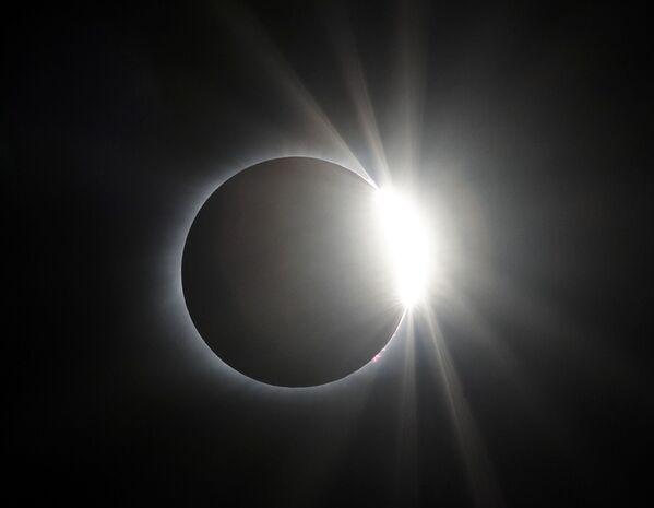 Солнечное затмение, архивное фото - Sputnik Таджикистан