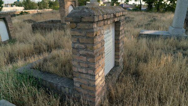Кладбище в Узбекистане, архивное фото - Sputnik Тоҷикистон