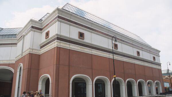 Часть здания Государственной Третьяковской галереи в Лаврушинском переулке - Sputnik Таджикистан