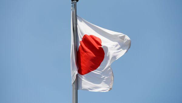 Государственный флаг Японии, архивное фото - Sputnik Тоҷикистон