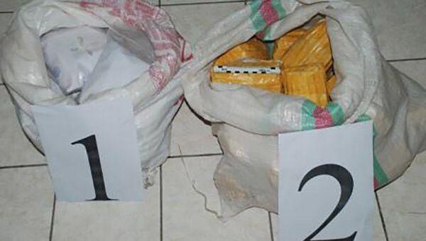 Сотрудники АКН Таджикистана изъяли 26 кг наркотиков  - Sputnik Таджикистан