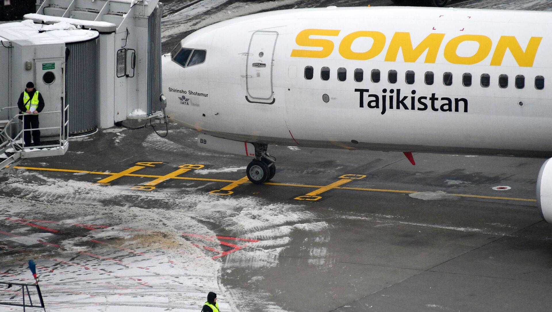 Самолет компаний Somon Air в аэропорту Домодедово - Sputnik Таджикистан, 1920, 15.02.2021