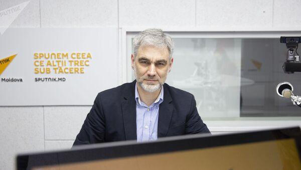 Президент блокчейн-ассоциации Молдовы и член экономического совета при президенте РМ Вячеслав Кунев. Архивное фото - Sputnik Таджикистан