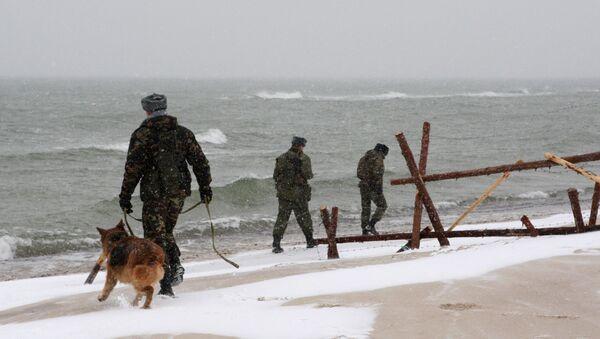 Работа пограничной заставы на российско-литовской границе, архивное фото - Sputnik Таджикистан