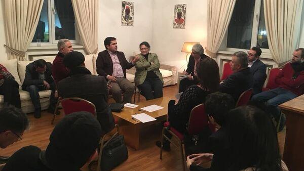 Ночь Идей в посольстве Франции в Душанбе - Sputnik Тоҷикистон