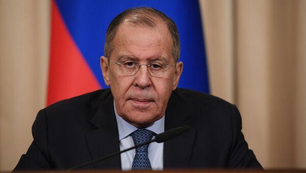Министр иностранных дел РФ Сергей Лавров, архивное фото - Sputnik Тоҷикистон