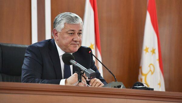 Пресс-конференция по результатам деятельности судебных органов за 2018 год в Таджикистане - Sputnik Таджикистан