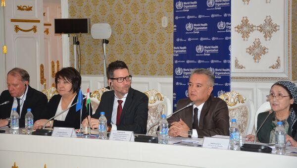 Обсуждения в министерстве здравоохранения Таджикистана Стратегии Здоровье населения Таджикистана за 2020-2030 годы - Sputnik Тоҷикистон