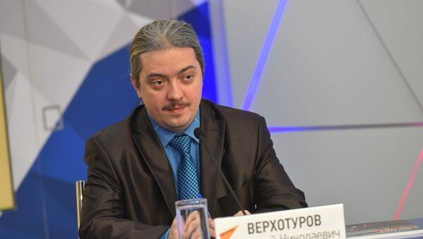 Дмитрий Верхотуров - Sputnik Таджикистан