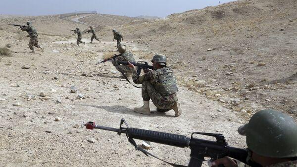 Cолдаты Афганской национальной армии, архивное фото - Sputnik Таджикистан