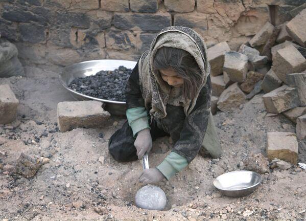 Юная девочка, Кабул  - Sputnik Таджикистан
