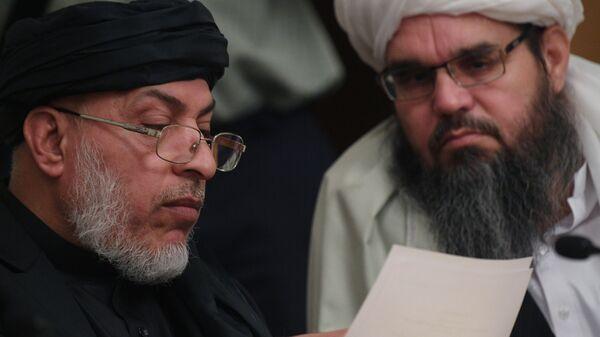 Глава политического совета движения Талибан , архивное фото - Sputnik Тоҷикистон
