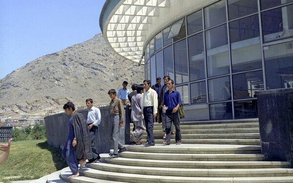 Политехнический институт в Кабуле в 80-х годах - Sputnik Таджикистан
