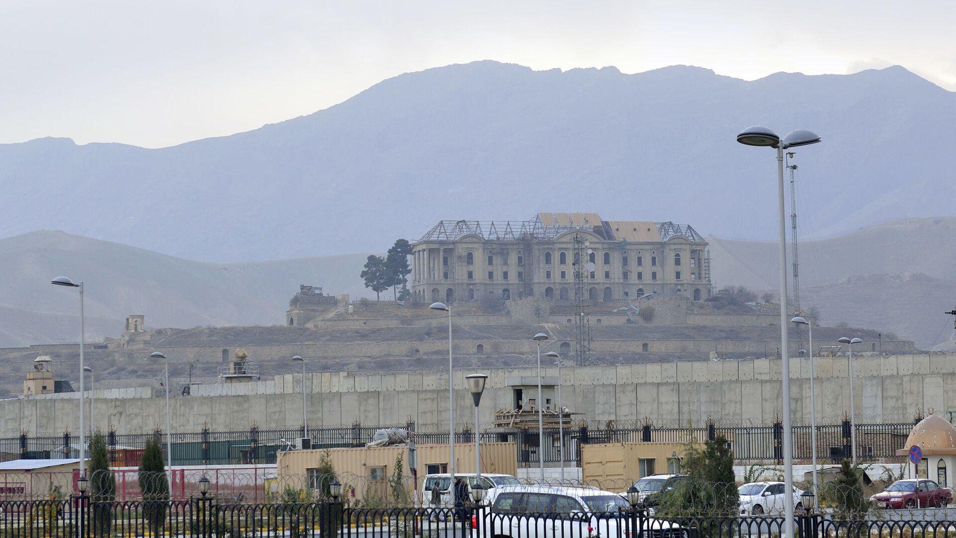 Дворец Тадж-Бек (Дворец Амина) на окраине Кабула - Sputnik Таджикистан, 1920, 24.08.2021