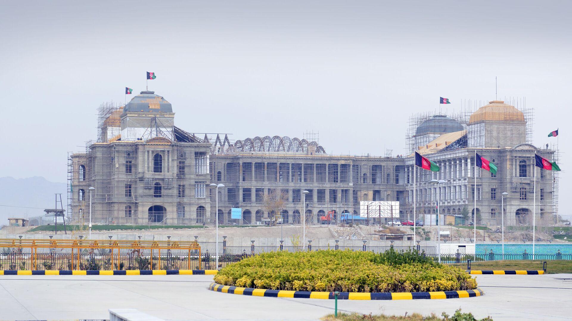 Строящееся правительственное здание в Кабуле - Sputnik Таджикистан, 1920, 18.08.2021