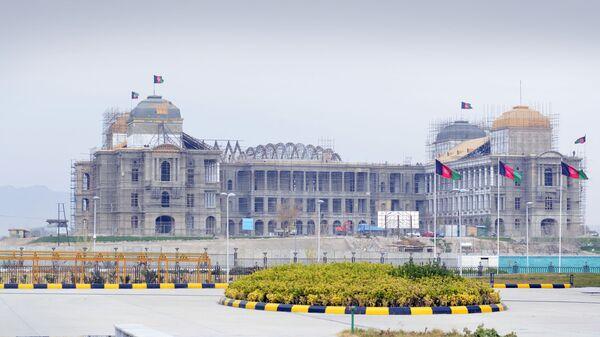 Строящееся правительственное здание в Кабуле - Sputnik Тоҷикистон