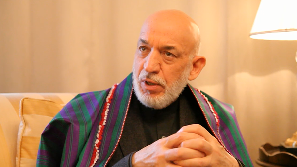 Бывший президент афганистана Хамид Карзай - Sputnik Тоҷикистон