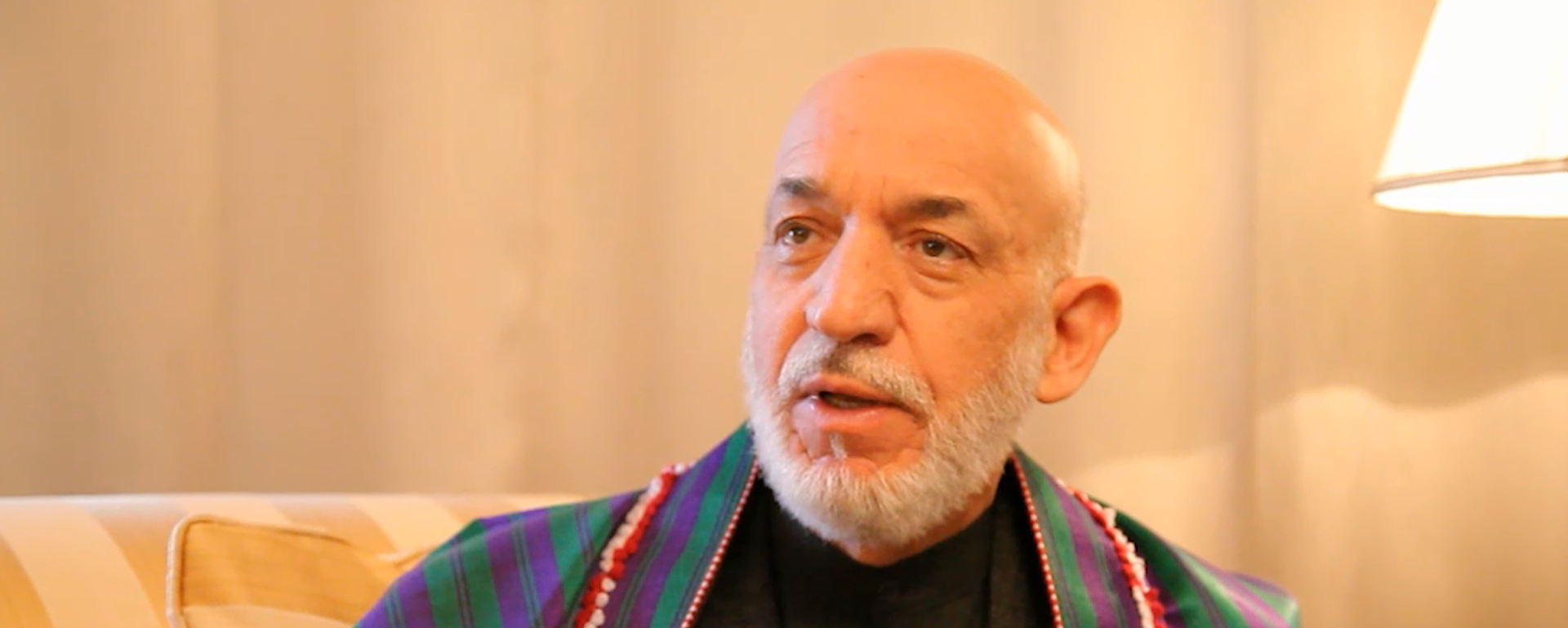 Бывший президент афганистана Хамид Карзай - Sputnik Таджикистан, 1920, 22.09.2021