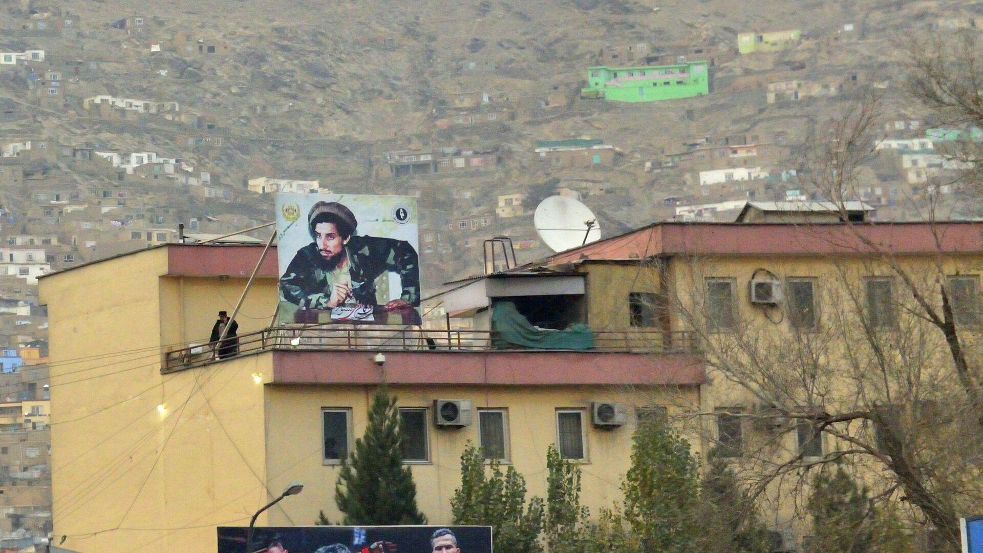 Кабул - национальный герой Ахмад шах Масуд и герои спорта всегда рядом - Sputnik Таджикистан, 1920, 26.08.2021