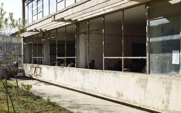 Здание политехнического института в Кабуле сейчас - Sputnik Таджикистан