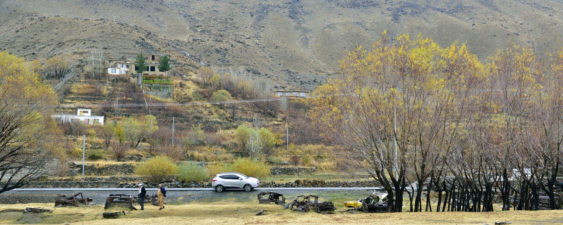 Дорога в провинции Панджшер (Афганистан) - Sputnik Таджикистан, 1920, 09.09.2021