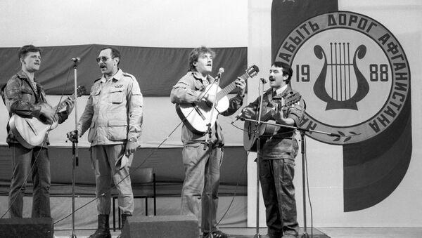 1-й Московский фестиваль авторской песни Нам не забыть дорог Афганистана. Выступает ВИА Каскад состава 1980 года - Sputnik Таджикистан
