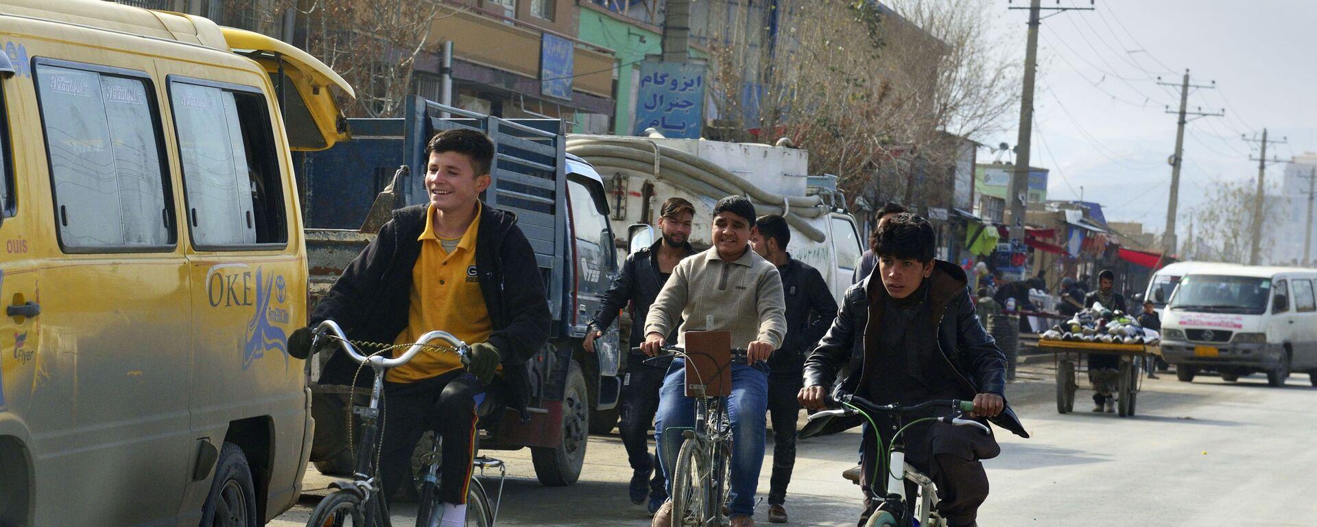 Кабульские мальчишки - Sputnik Таджикистан, 1920, 20.06.2021