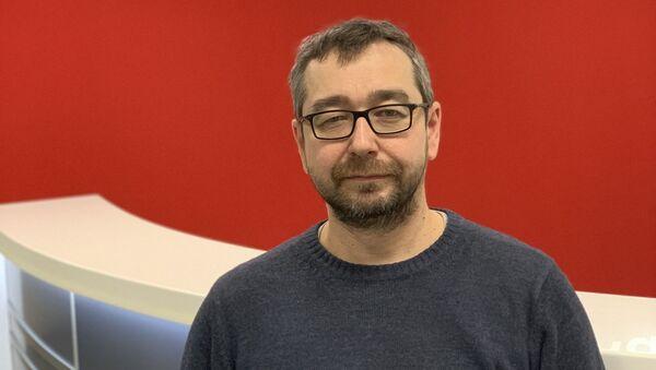 Дмитрий Афанасьев, руководитель службы по связям с общественностью ООО Релематика - Sputnik Таджикистан