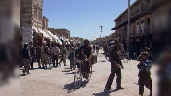 Обстановка во время гражданской войны в Афганистане  1994 – 1996 годов - Sputnik Тоҷикистон