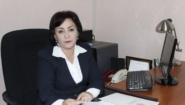 Первый заместитель председателя Комитета по делам женщин и семьи при правительстве Таджикистана Мархабо Олими - Sputnik Таджикистан