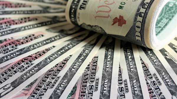 Банкноты США, архивное фото - Sputnik Таджикистан