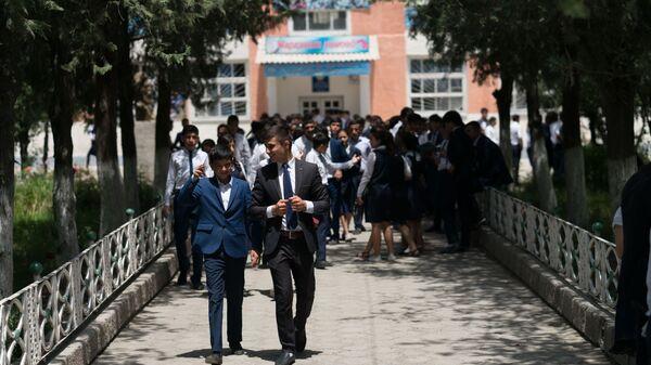 Школьники в Таджикистане, архивное фото - Sputnik Таджикистан