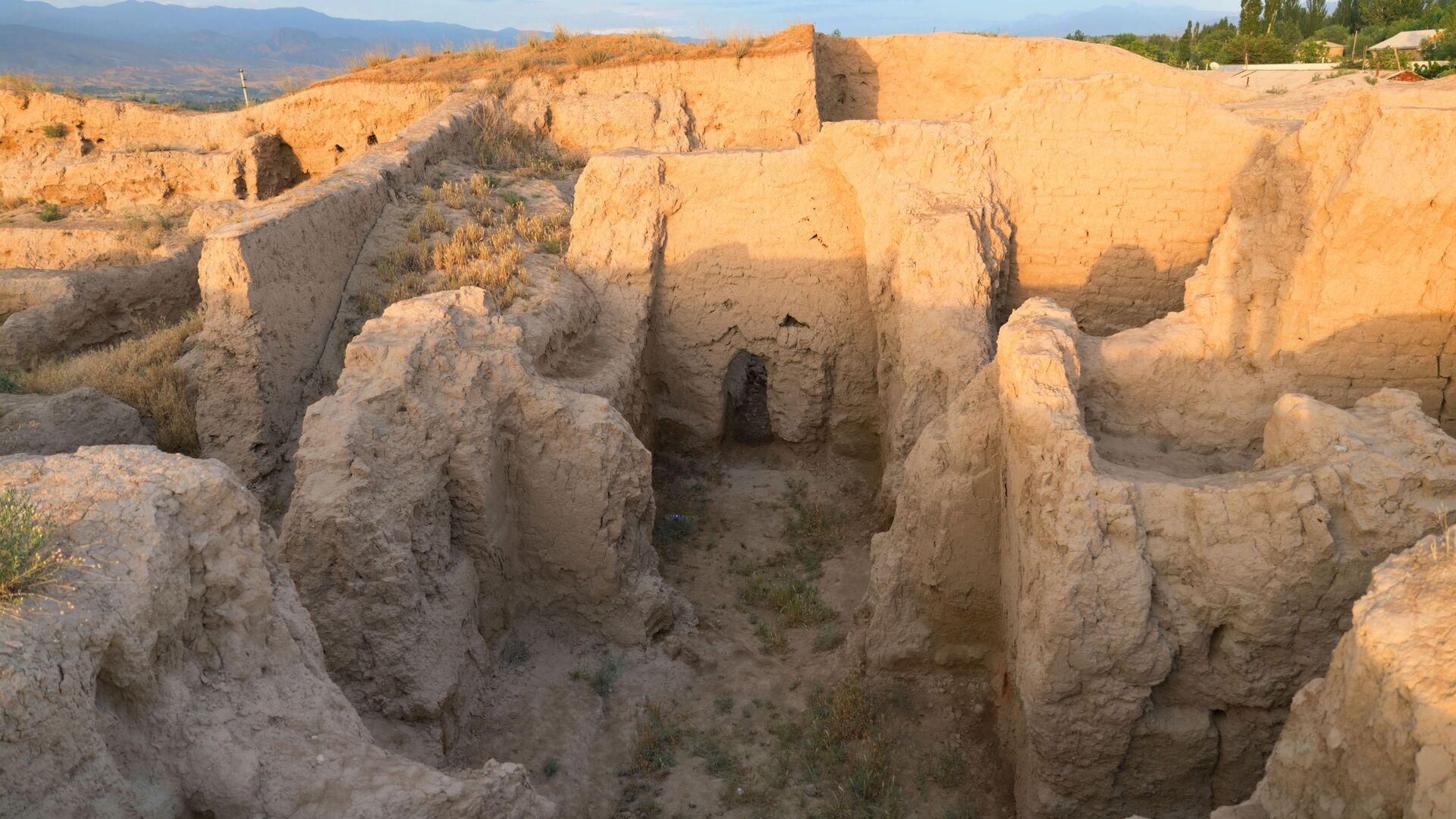 Раскопки древнего городища Пенджакент в Таджикистане - Sputnik Таджикистан, 1920, 29.09.2021