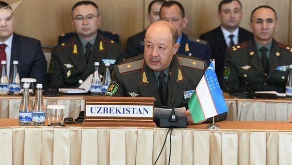 Министр обороны Узбекистана генерал-майор Баходир Курбанов - Sputnik Таджикистан