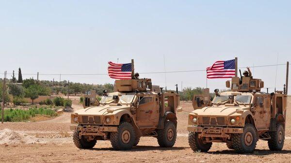 Американские военнослужащие в Сирии, архивное фото - Sputnik Таджикистан